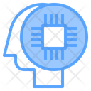 Ai Brain Process Thinking Process Icon