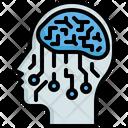 Head Intelligence Automaton Icon