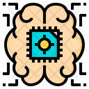 Brain Artificial Intelligence Icon
