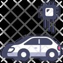 Ai Car Vehicle Icon
