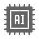 Ai Chip Technology Icon