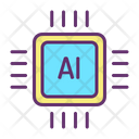 Ai Chip Icon
