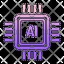 Ai Chip Icon