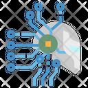 Ai Robot Brain Icon