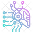 Ai Robot Brain Icon