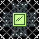 Ai Chip Processor Chip Chip Icon