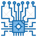 Cpu Chip Artificial Intelligence Icon