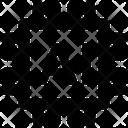 I Quantum Computing Microchip Icon