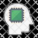 Ai Chip Processor Chip Cpu Icon
