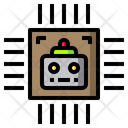 Ai Chip Ai Processor Artificial Intelligence Chip Icon