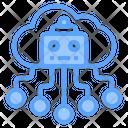 Ai Cloud Cloud Technology Cloud Computing Icon