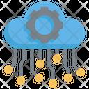 Ai Cloud Configuration Icon