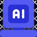 Ai Computer Icon