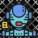 AI Customer Service Icon