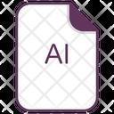 Ai Design File Icon