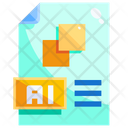 Ai File Artificial Intelligence Format Icon
