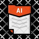 File Ai Document Icon