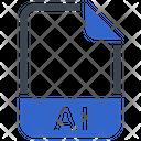 Ai Document File Icon