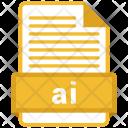 Ai File Formats Icon