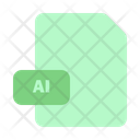 File Ai Document Icon