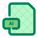 File Ai Adobe Illustrator Icon