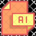 Ai File Format File Icon