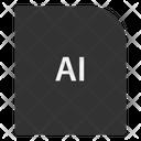 Ai File Document Icon