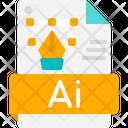 Graphic Design Creative File Icon