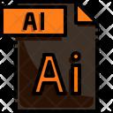 Ai File Ai File Format Icon