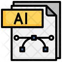Ai File File Folder Icon