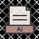 Ai File Extension Icon