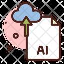 Ai File Upload Icon