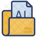Adobe Illustrator File Illustrator Ai Icon