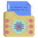 File Folder Data Icon