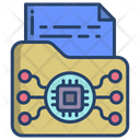 Ai Folder Storage Data Icon
