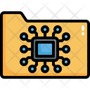 Artificial Intelligence Chip Icon