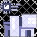 House Ai Smart Icon