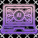 Ai Laptop Icon