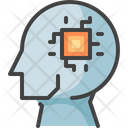 Ai Artificial Intelligence Head Icon