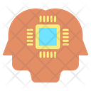 Ihead Chip Ai Mind Chip Artificial Intelligence Chip Icon