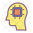 Ichip Ai Mind Chip Artificial Intelligence Chip Icon