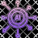 Iai Ai Network Ai Spread Icon