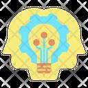 Iai Process Ai Process Artificial Mind Icon