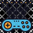 Game Play Ai Icon