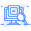 Ai Research Ai Analysis Ai Assessment Icon