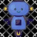 Ai Robot Bionic Man Humanoid Icon