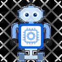 Ai Robot Process Icon