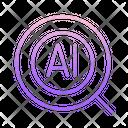 Ai Search Icon
