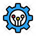 Setting Artificial Intelligence Icon