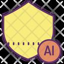 Icloud Architecture Ai Shield Secure Ai Icon